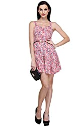 MySin Multicolor Blended Floral Print Sheath Dress
