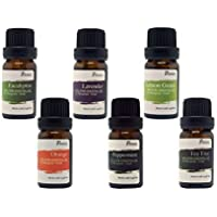 6-Pack Pursonic Aromatherapy Essential-Oil Gift Set