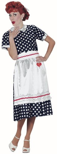 Adult Women's I Love Lucy Costume (Size:Small 6-8)