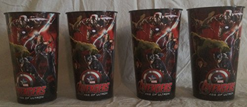 Avengers Age Of Ultron Movie Theater Exclusive Cup