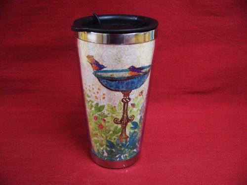 Lang Artisan Garden Birdcage Traveler Mug