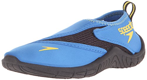 Speedo Kids Surfwalker Pro 2.0 Water Shoes (Little Kid/Big Kid), Blue/Black, 4  US Big Kid (Water Shoes Girls compare prices)