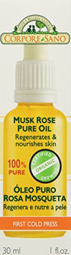 Certified Organic Growing Musk Rose Pure Oil / Aceite Puro De Rosa Mosqueta 30 Ml. / 1 Fl.oz.HEALS Dry Skin, Fine Lines, Acne Scars, Eczema, Psoriasis, Dermatitis, Sun Damage & More! ★ 100% Guaranteed to Heal Your Body! (Rosa Mosqueta Oil 100 Pure compare prices)