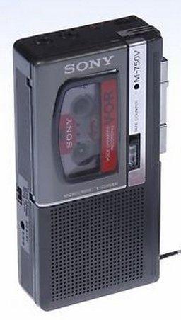Sony V-O-R M-750v Micro-Cassette Recorder