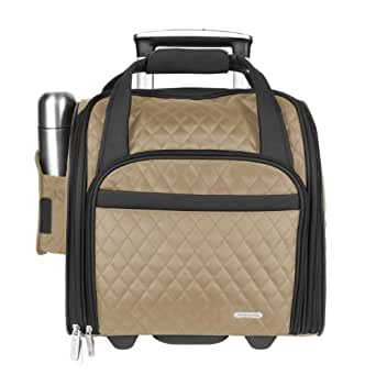 Travelon Wheeled Underseat Carry-On with Back-Up Bag,