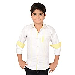 AEDI Little Casual Cotton shirts for Boys (10-11 Years)
