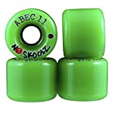 ABEC 11 No Skoolz 60mm 78A Skateboard Wheels