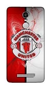 Xiaomi Redmi Note 3 Manchester United Football Club Design Back Cover - Printed Designer Cover - Hard Case - XIRMIN3CMBMUFC0150