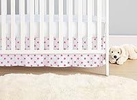 aden + anais Classic Crib Skirt, Fluro Pink from aden + anais