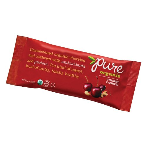 Pure Organic Cherry Cashew Bar