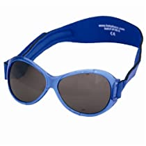 Baby Banz Retro Banz Oval Sunglasses Pacific Blue Ages 0-2