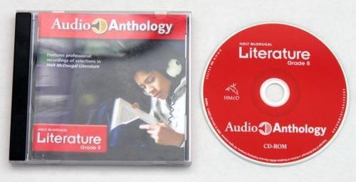 Holt McDougal Literature Grade 8 Audio Anthology CD