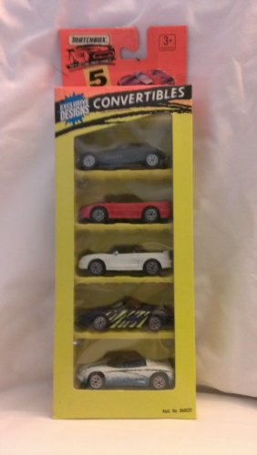 Matchbox Convertibles 5 Pack - 1