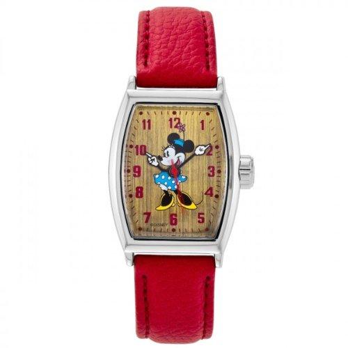 Disney Mickey Tonneau Brown 25645 - Orologio da polso Unisex