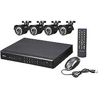 SHIELDEYE RSCM-0708B041 8-Ch. Security System
