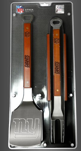 New York Giants 3-Piece Set Sportula Set Grilling Tailgating Tools Nfl Spatula