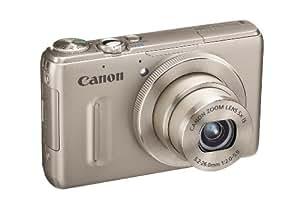 Canon PowerShot S100 Digitalkamera (12 Megapixel, 5-fach opt. Zoom, 7,7 cm (3 Zoll) Display, Full HD Video, GPS, bildstabilisiert) silber