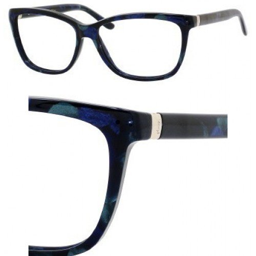 Yves Saint Laurent YVES SAINT LAURENT 6363 Eyeglasses 0EHK Blue Demo Lens 56-14-135