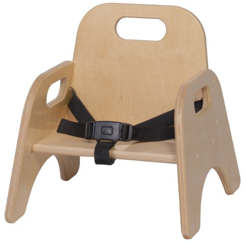 Steffy Wood Products 5-Inch Toddler Chair with Strap - 1