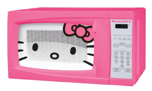Purchase Hello Kitty MW-07009 Microwave Oven, 0.7 Cubic Feet