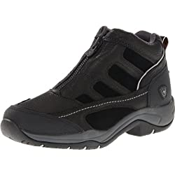 Ariat Women's Terrain Zip H2O Hiking Boot, Black