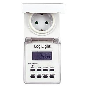 LogiLight ET0004 - Temporizador digital con pantalla digital LCD, para exteriores   más noticias y comentarios