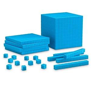 Amazon.com: Learning Resources Plastic Base Ten Starter Kit: Office