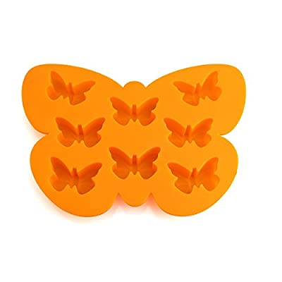 Delidge 8 Cavity Petite Butterfly Silicone Casting Chocolate Mold DIY Decorating Tool