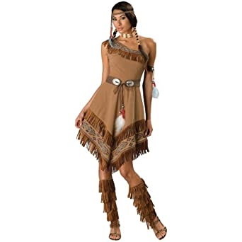 Indian Maiden Adult Costume Size Large (12-14)