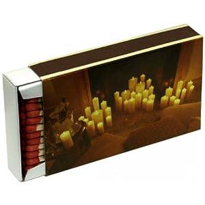 10 boîtes d'allumettes de bougies, allumettes de cheminée, réveillon, allumettes de barbecue KM Firemaker, art. 1521/s