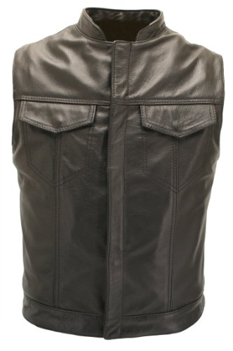 Sons of Anarchy Leather Vest - Made in USA
