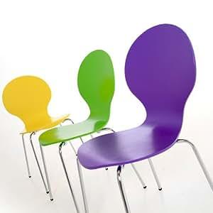 6 st ck design klassiker stuhl st hle stockholm stapelbar bunt holzstuhl mehr als 22. Black Bedroom Furniture Sets. Home Design Ideas