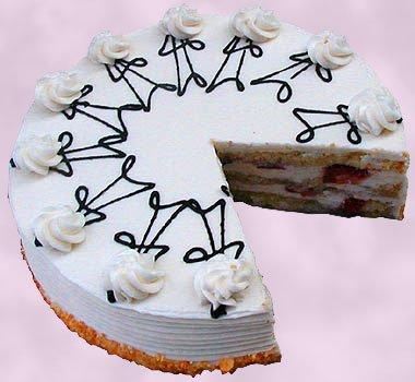 Strawberry Grand Marnier Cake