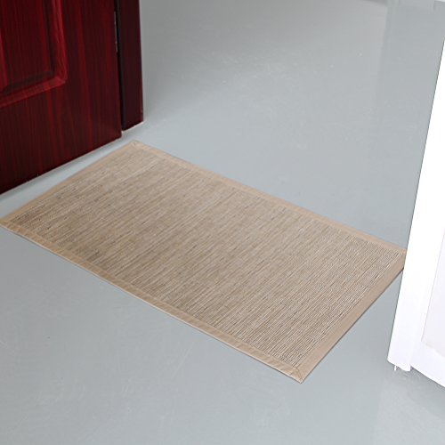 Valdler indoor and outdoor door mat rug rectangular non for Decorative door mats indoor