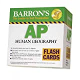 img - for By Meredith Marsh M.A. Barron's AP Human Geography Flash Cards (Barron's: the Leader in Test Preparation) (Flc Crds) book / textbook / text book