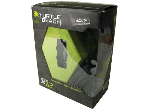 Turtle Beach Ear Force X12 Amplified Stereo Gaming Headset For Xbox 360- Boxed