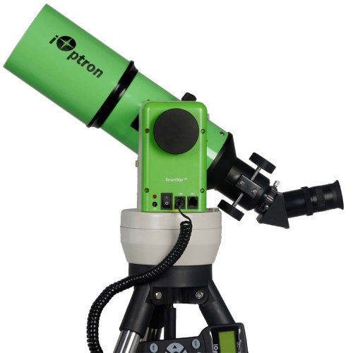 Ioptron Smartstar-A-R80 8602G Gps Computerized Telescope With Dual Altaz/Eq Mount (Terra Green)