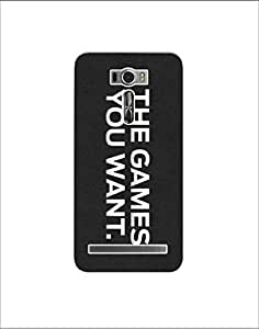 Asus zenfone 2 laser ze601kl nkt-04 (12) Mobile Case by Mott2 - The Games you... (Limited Time Offers,Please Check the Details Below)