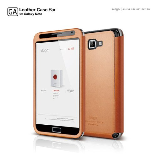 G4 Leather BAR for Galaxy Note SC-05D ケース