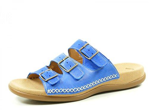 Gabor 43-709 Infradito donna, schuhgröße_1:41 EU;Farbe:Blau