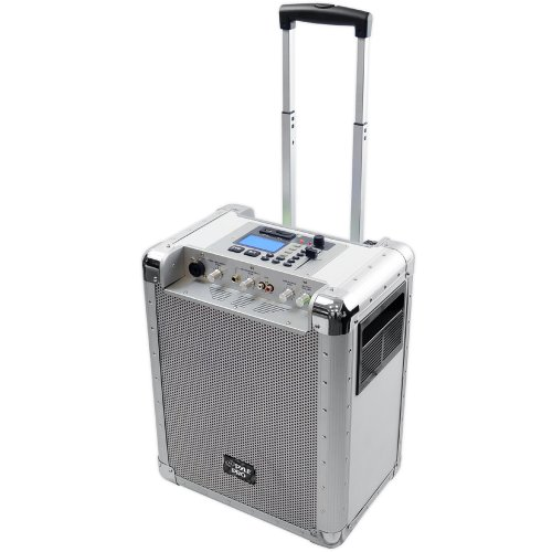 Pyle-Pro Pcmx265W Battery Powered Portable Pa System With Usb/Sd, Dj Controls, And Aux Inputs