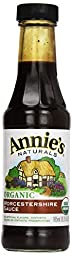 Annie\'s Homegrown Organic & Vegan Worcestershire Sauce, 6.25 oz