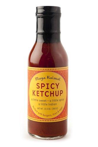 Maya Kaimal Spicy Ketchup - 13.5 oz Food, Beverages ...
