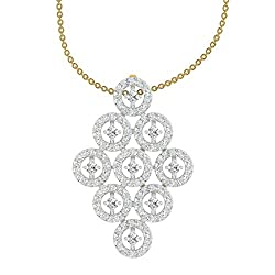 TBZ - The Original 18k Yellow Gold and Diamond Pendant