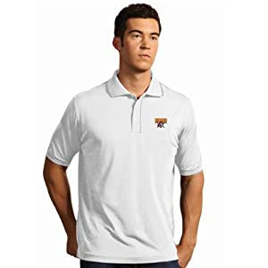 Pittsburgh Pirates Elite Polo Shirt (White) by Antigua