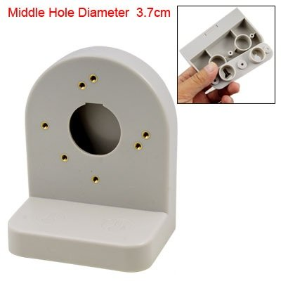 L Type 1.5 Inch Middle Dia Beige Dome Camera Bracket Shelf
