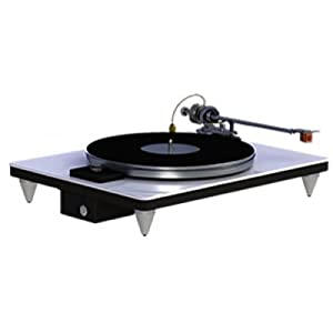VPI Traveler Audiophile Turntable in Silver with a 10