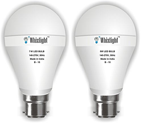 5W, 7W (Cool Day Light, Set of 2)