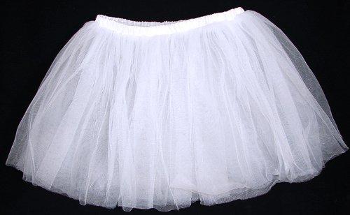Three Layer Ballet Dress-Up Fairy Tutu - White