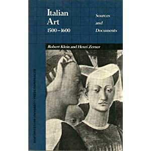 italian art 1500 1600  sources